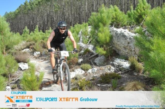 Somewhere on the Grabouw XTERRA MTB course.